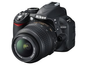 Nikon D3100 cannot take pictures (Mirror stuck)