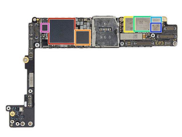 Voyons un peu ce qui se cache sous le capot de l'iPhone 8 Plus: