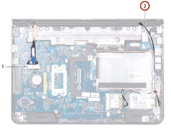 Dell Inspiron 1122 M102z Display Assembly Replacement