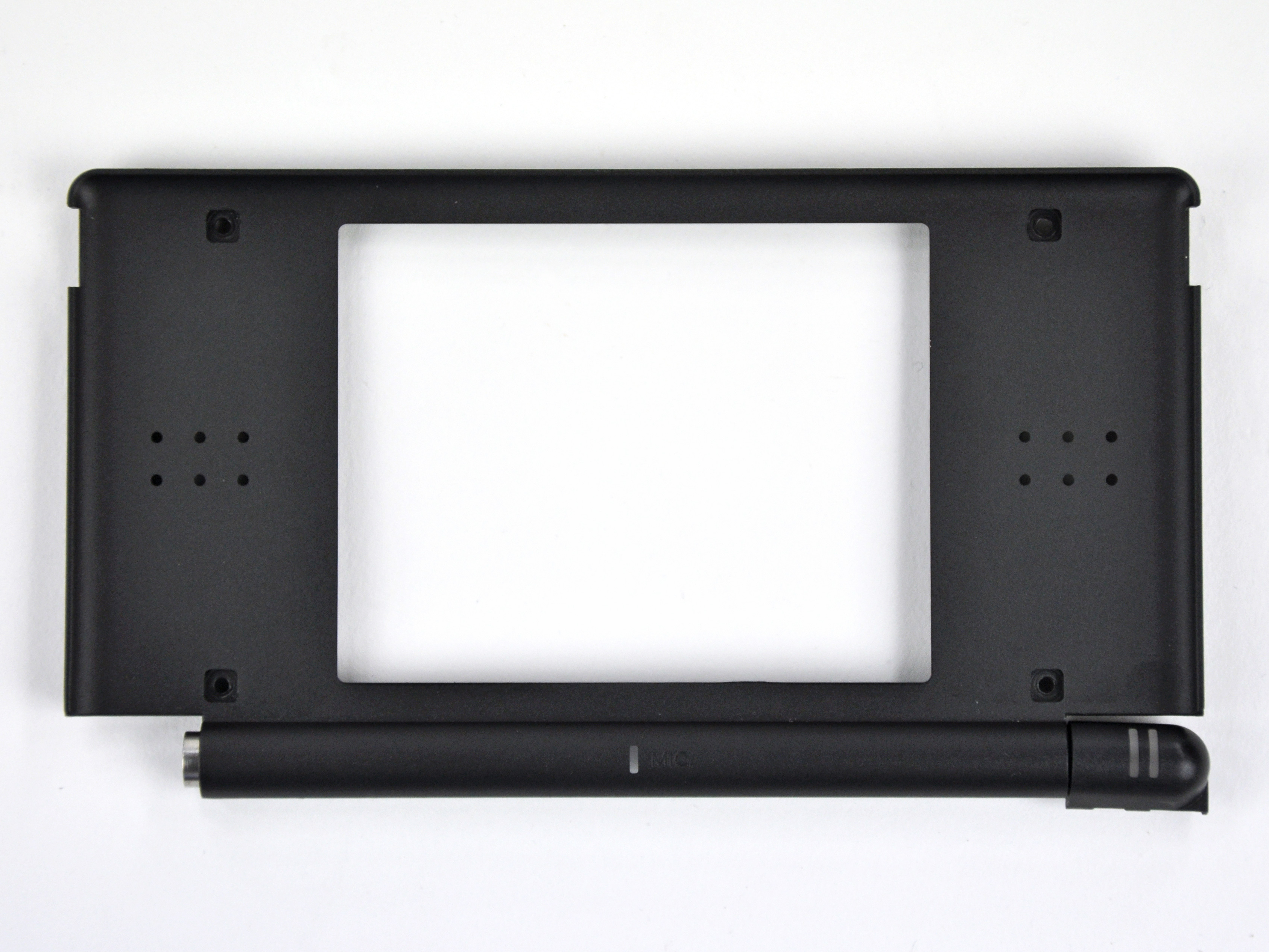 nintendo ds lite front display bezel replacement ifixit repair guide. Black Bedroom Furniture Sets. Home Design Ideas