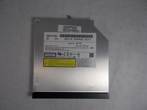 Toshiba Satellite L675D-S7015 Disk Drive Replacement