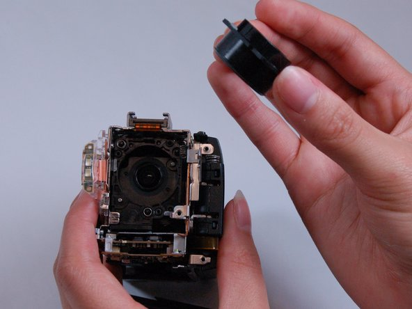 Make sure to avoid touching the lens itself directly in order to prevent scratches or dirtying.