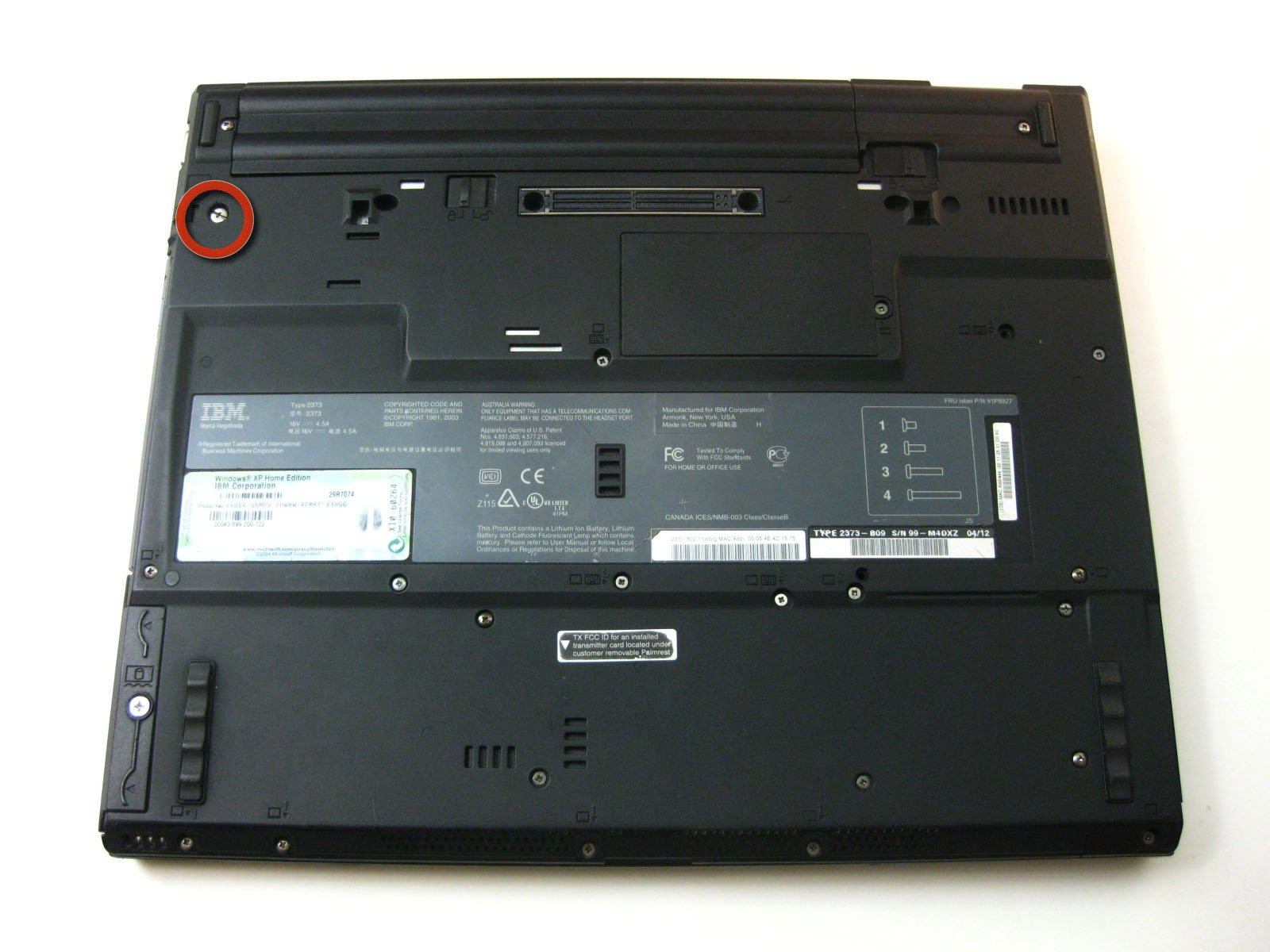 IBM ThinkPad T42 Optical Drive Replacement - iFixit Repair Guide