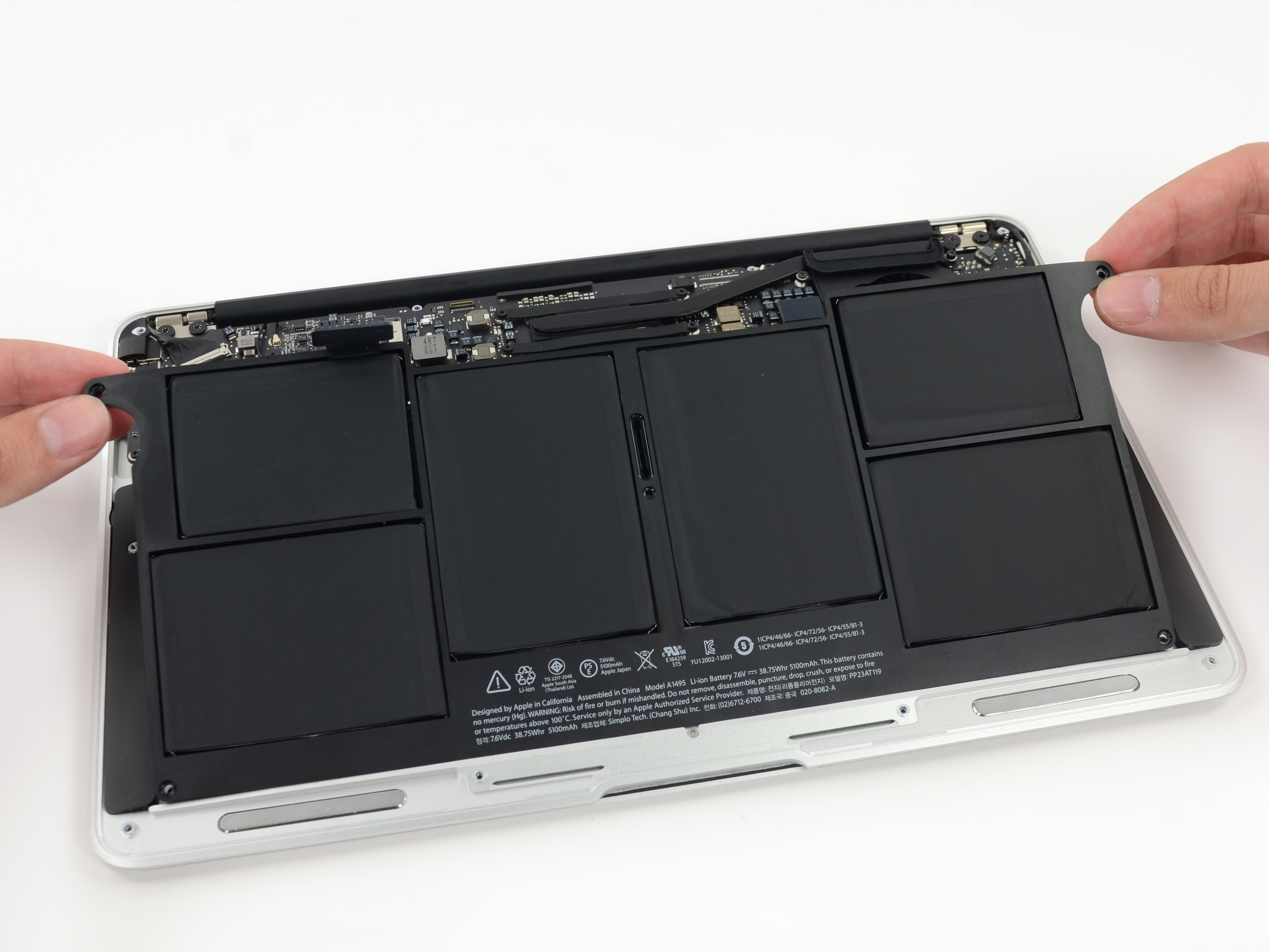 Macbook Air 11 Quot Early 2014 Battery Replacement Ifixit border=