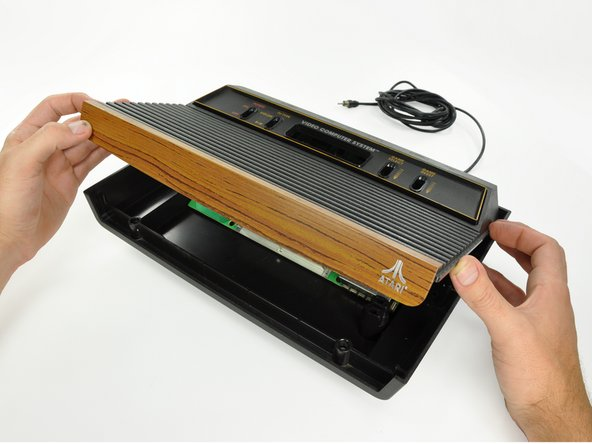 Atari 2600 game console teardown