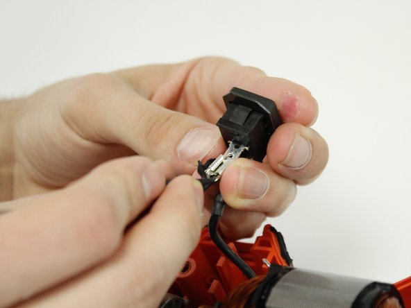 Expose the cable and lock system by peeling off the electric cover.