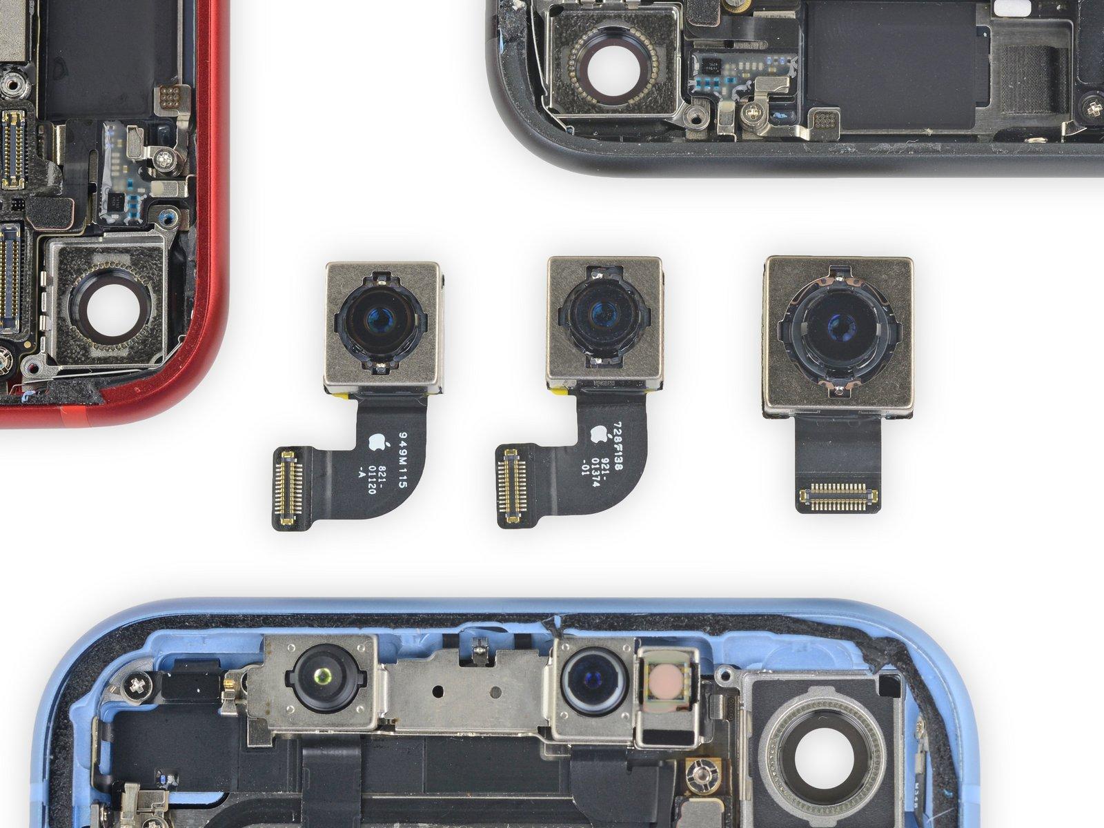 iFixit: Vergleich Kamera-Einheiten