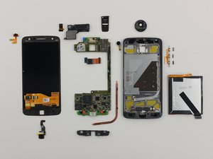 Motorola Moto Z Repairability Assessment