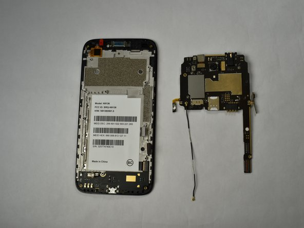 ZTE Prestige 2 Motherboard Replacement