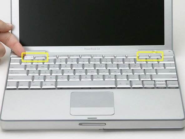 "PowerBook G4 Aluminum 12"" 1-1.5 GHz Keyboard Replacement"