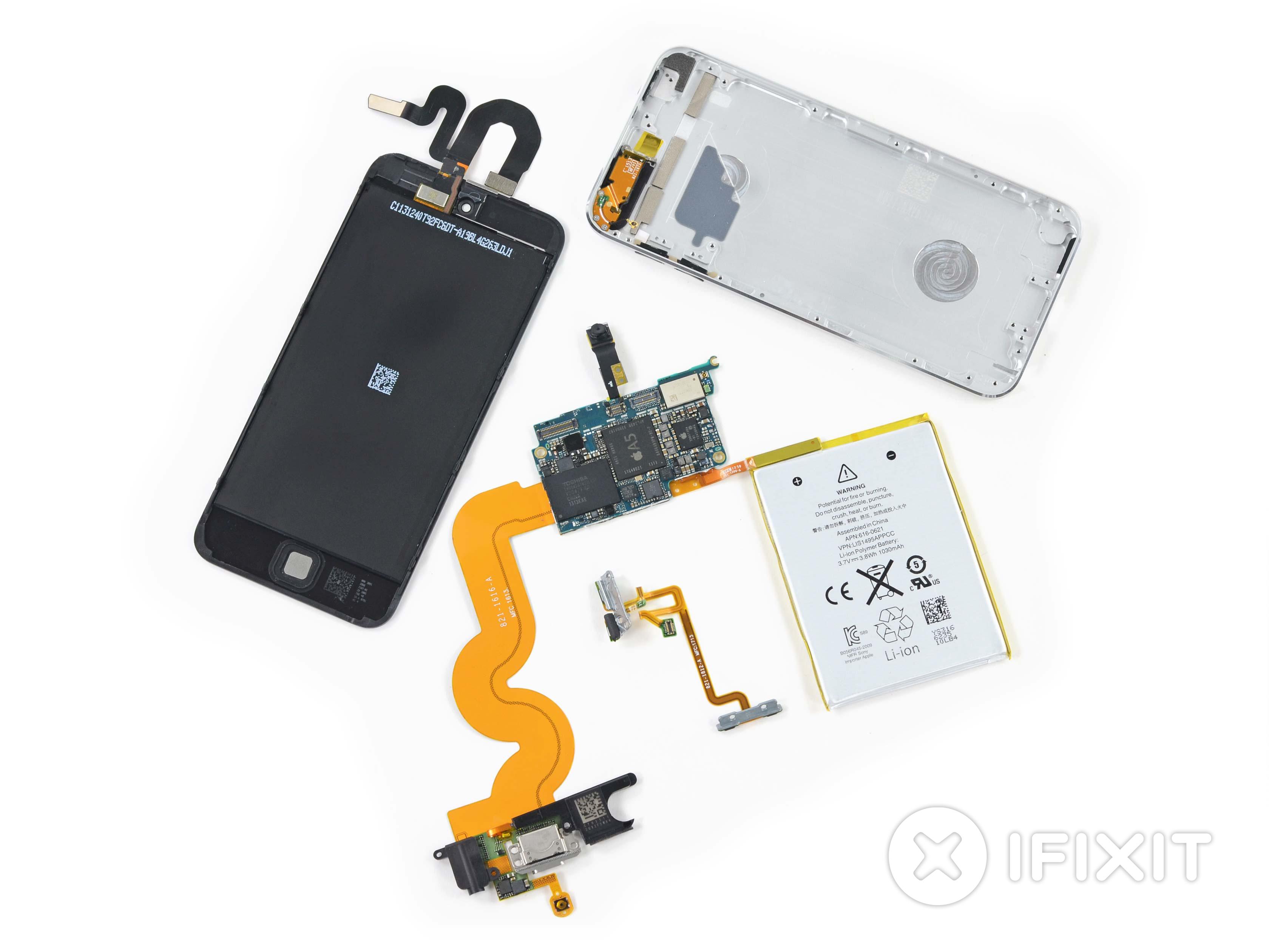 iPod Touch 5th Generation 16 GB Teardown