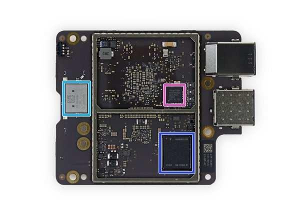 Apple 343S00198 64-bit A10X Fusion processor