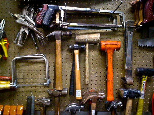 Tools at the West Seattle Fixers Collective