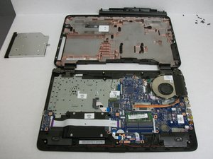 HP 17-x061nr  Disassembly