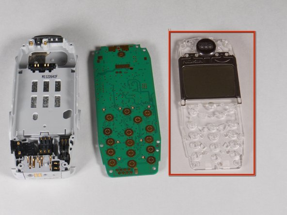 Disassembling Nokia 3395 Screen