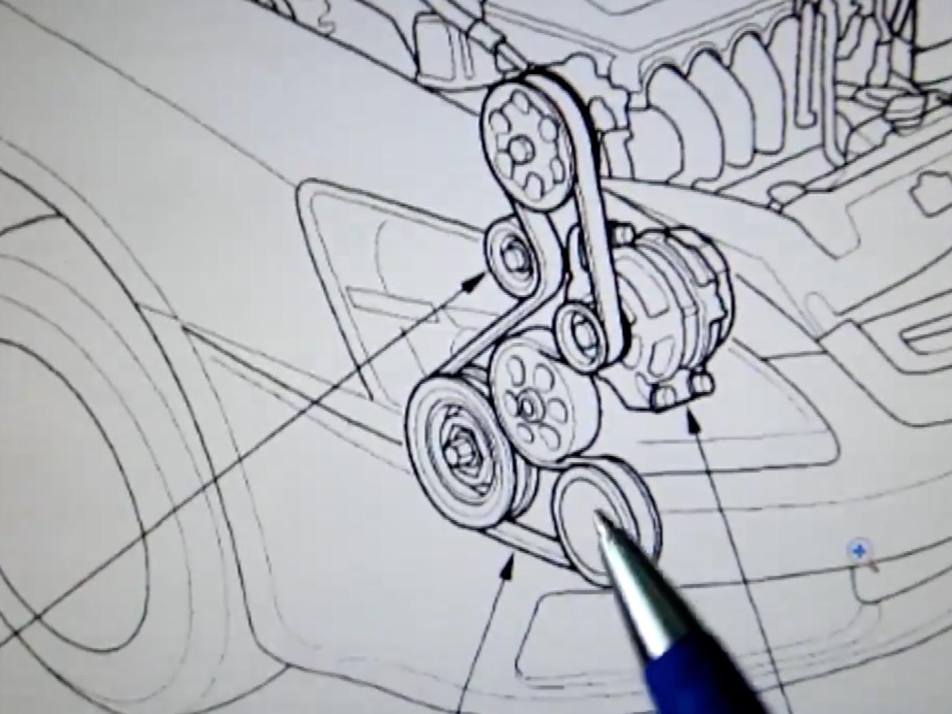 2006 Honda Accord V6 Serpentine Belt Diagram Wiring Diagrams Pilot On 2003 2007 Replacement 2005