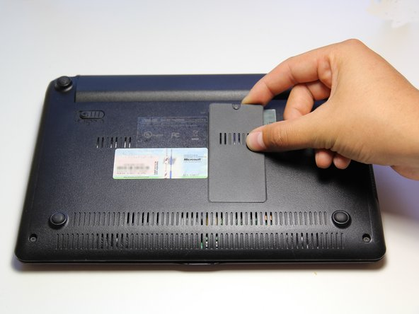 Image 1/2: Make sure that you do not pull the cover too hard because there are plastic pins that hold the cover on.
