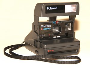 Polaroid OneStep 600 Close Up Repair