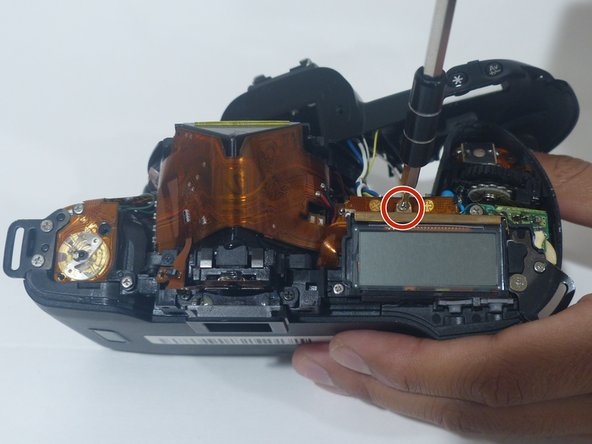 Canon EOS Rebel XS 35mm LCD screen Replacement