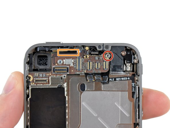 Image 1/1: When reassembling the device, this standoff sets the height of the Wi-Fi shield removed in step 13.  If not torqued down, the shield will be above the plane of the frame and the back will not slide into place in step 2. The shield should be flush with the headphone jack.