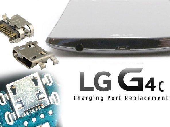 LG G4 Charging Port / Micro USB Replacement - iFixit Repair