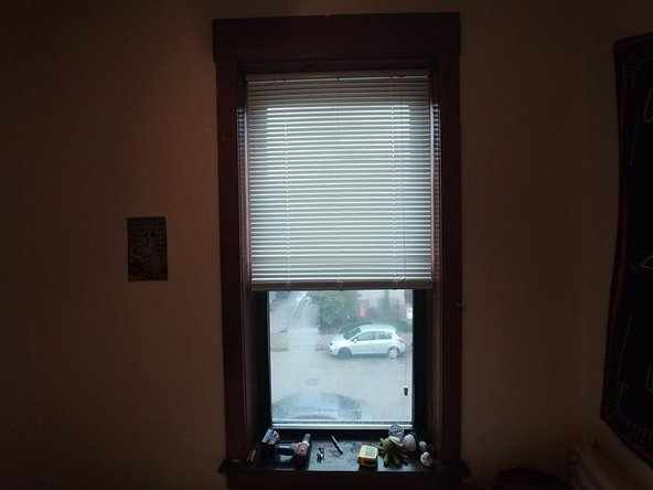 If the blinds do catch, you may need to reinstall the brackets and blinds.