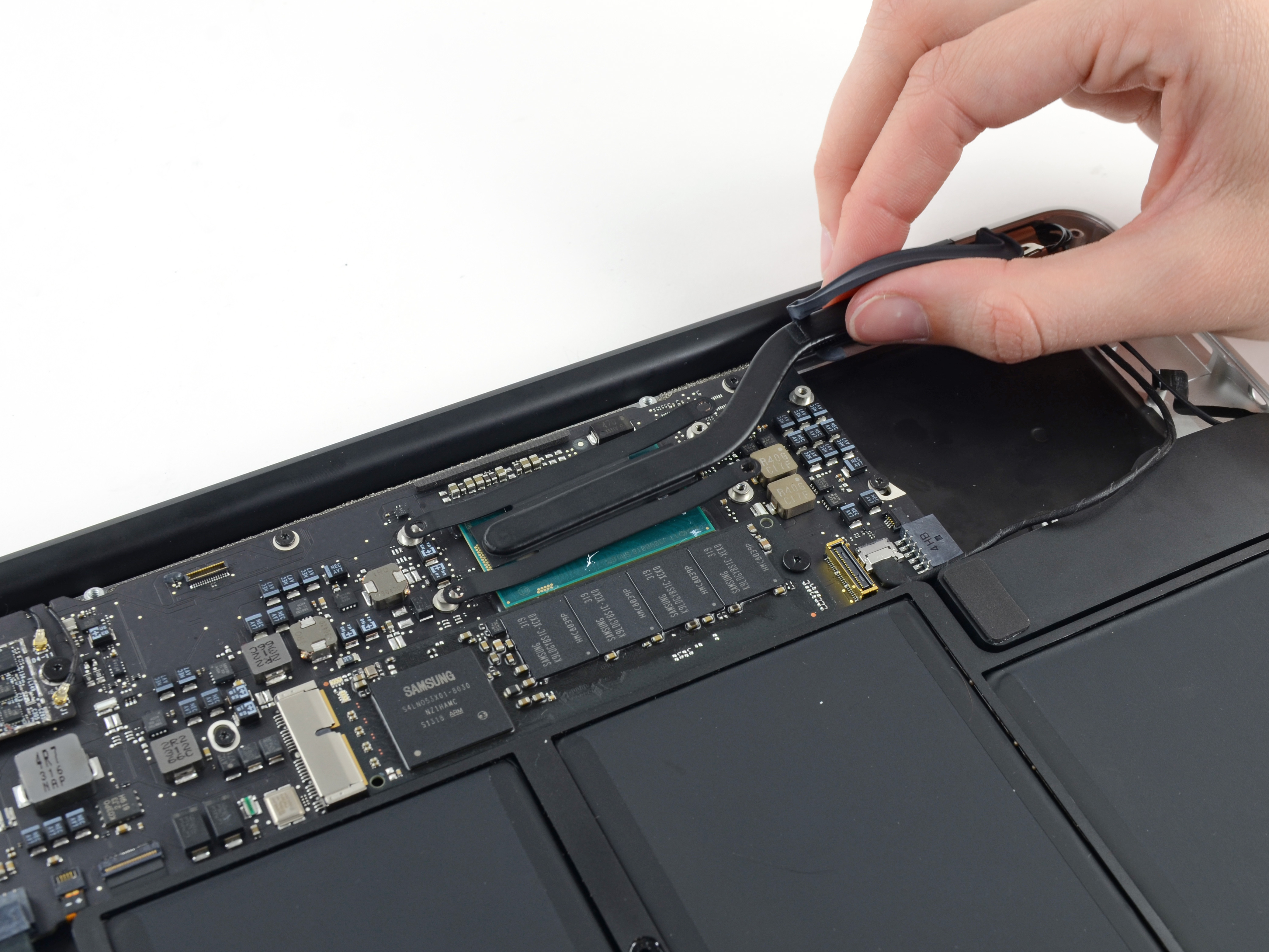 macbook air 13 early 2015 heat sink replacement ifixit repair guide rh ifixit com iFixit MacBook Air MacBook Air 2014