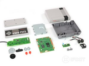 Nintendo Classic Mini NES Teardown