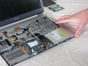 Sony Vaio PCG-6J2L Optical Drive Replacement