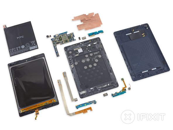 Nexus 9 Repairability: 3 out of 10 (10 is easiest to repair)