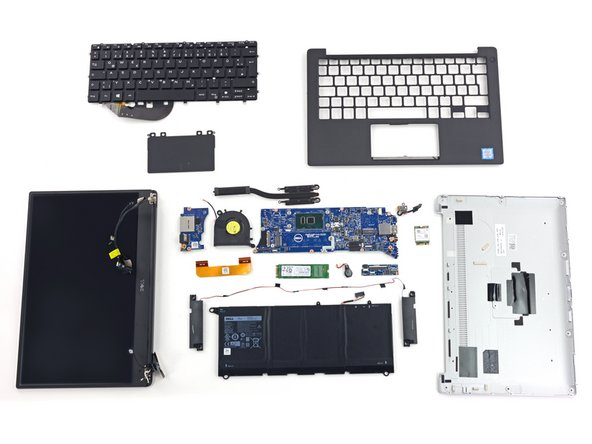 The Dell XPS 13 earns a 7 out of 10 on our repairability scale (10 is the easiest to repair):