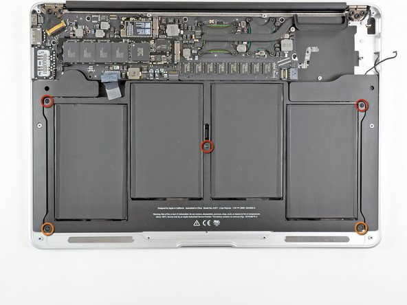 "MacBook Air 13"" Late 2010 Battery Replacement"
