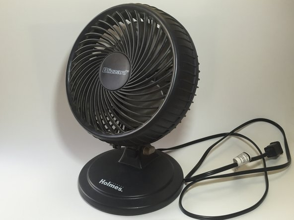 Table Fan Replacement Parts : Holmes blizzard fan repair ifixit