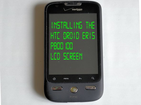HTC Droid Eris LCD Replacement