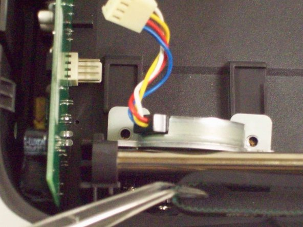 The stepper motor will become completely free.