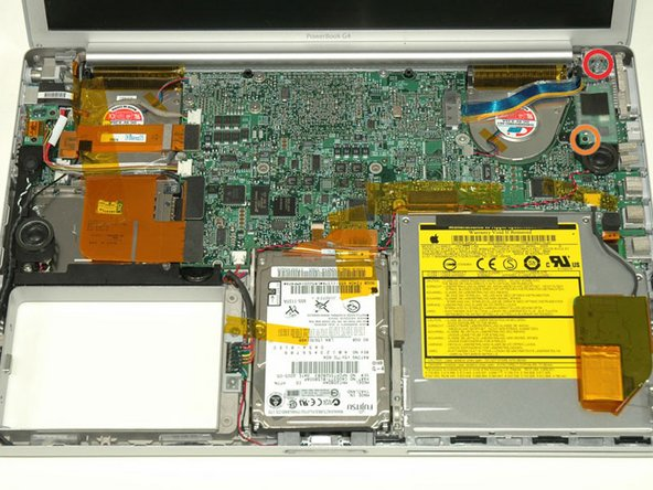 "PowerBook G4 Aluminum 15"" 1.5-1.67 GHz Right Ambient Light Sensor Replacement"
