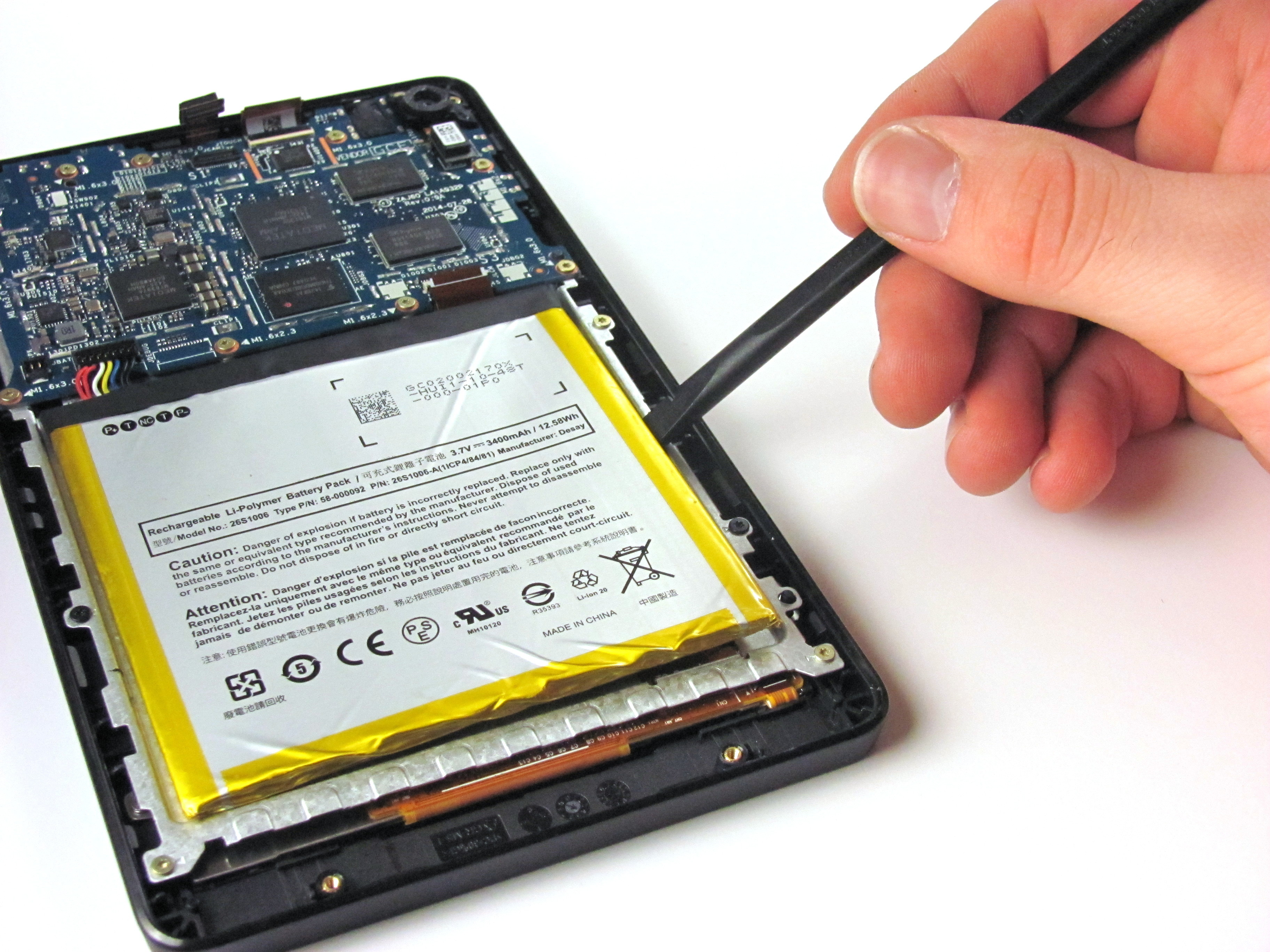 Kindle Fire HD 6 Repair - iFixit