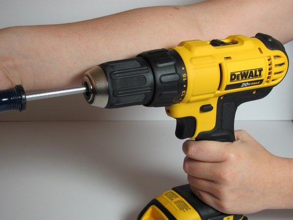 Turn the screwdriver clockwise to remove the screw. It may be tricky so keep turning until you feel the screw remove itself from the drill.