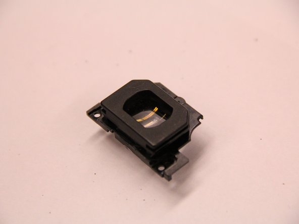 With the screws removed, the eyepiece can easily be pulled free.