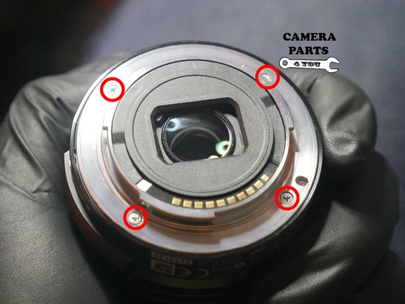 Image 1/1: For reassembly make note of the gold contacts with respect to the serial number for proper positioning.