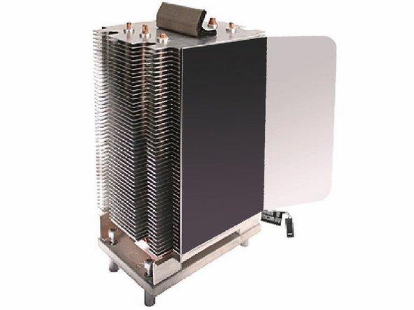 Preparing a New Heatsink for Re-installation. If you have a existing heatsink, follow the EXISTING Heatsink procedure.