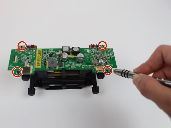 """Use a #3 Hex screwdriver to unscrew all four 3mm screws."""""""