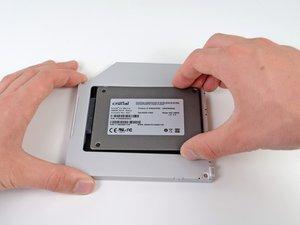 Installation d'un second SSD dans le Mac mini modèle A1176