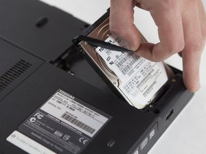 Toshiba Satellite L305D-S5900 Storage Drive Replacement