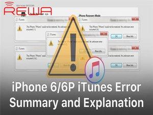 iPhone 6/6 Plus iTunes Error Codes Quick Fix