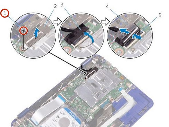 Dell Inspiron 11 3169 Display Assembly Replacement