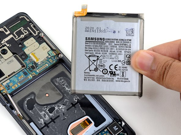 Samsung Galaxy S20 Ultra Battery Replacement Manual Guide
