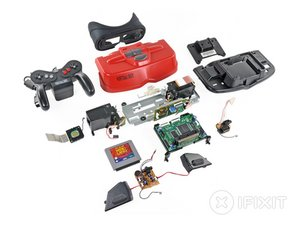 Nintendo Virtual Boy Teardown