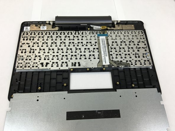 Check that all connections are removed from the keyboard.