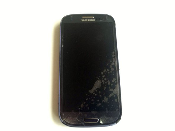 Samsung Galaxy S III Broken Front Glass Replacement
